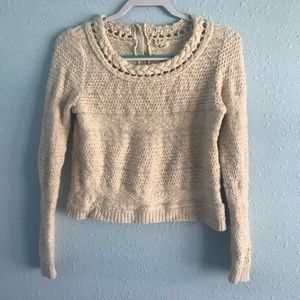 Moth by Anthropologie crop sweater